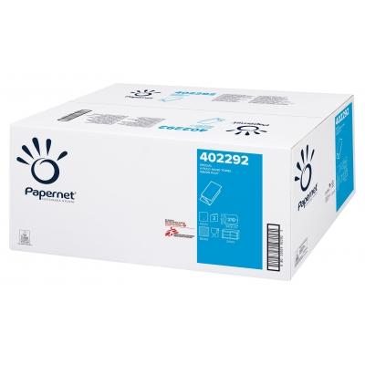 1 Palette 36 VE Papierhandtücher V-Falz Zellstoff 2-lagig