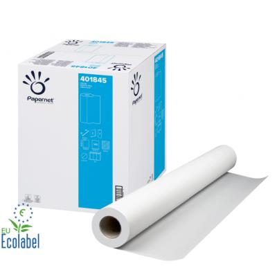 Ärzterollen / Liegenpapier 49 cm Zellstoff, 2-lagig, 50 Meter / Rolle Papernet 401845  9 Rollen / Karton