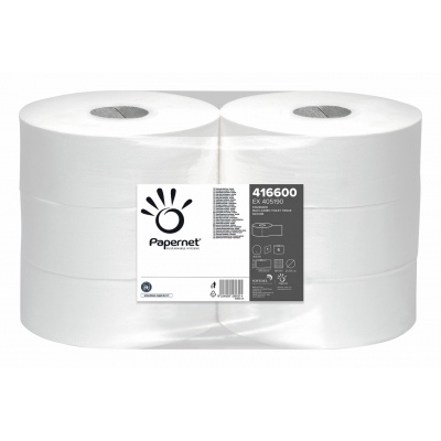 Maxi Jumbo Toilettenpapier Recycling 1-lagig, 500m / Rolle Papernet 416600  6 Rollen / VE