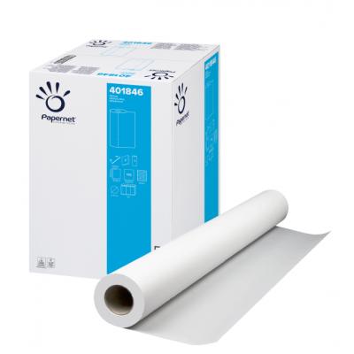 Ärzterollen / Liegenpapier 55 cm Zellstoff, 2-lagig, 50 Meter / Rolle Papernet 401846  9 Rollen / Karton
