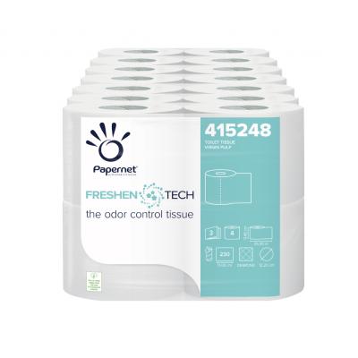 Toilettenpapier Zellstoff mit Duft 3-lagig / 160 Blatt Papernet 415248 NEU: neutralisiert Gerüche 28 Rollen / VE