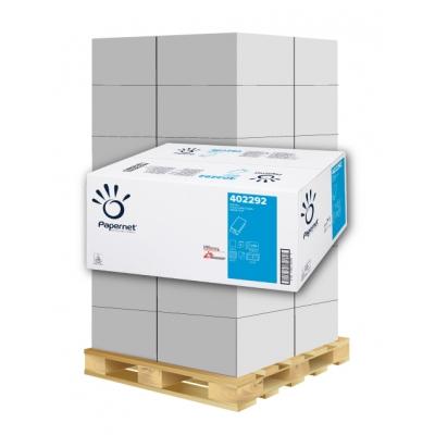 Papierhandtücher Papernet 402292 V-Falz, 2-lagig, Zellstoff Maß: 24 x 21 cm (gefalten 11 cm)  1 Palette / 36 Kartons