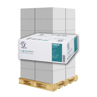 Papierhandtücher Papernet 416616 V-Falz, 2-lagig, Recycling Maß: 25 x 23 cm (gef. 11,5 cm)  1 Palette / 32 Kartons
