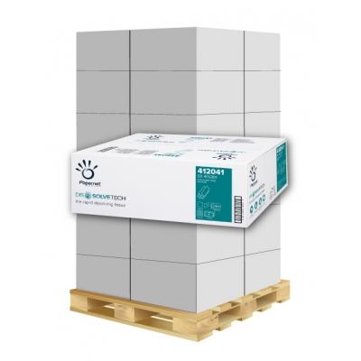 Papierhandtücher Papernet 412041 Z-Falz, 1-lagig, Recycling Maß: 20,3 x 24 cm (gef. 8 cm)  1 Palette / 40 Kartons