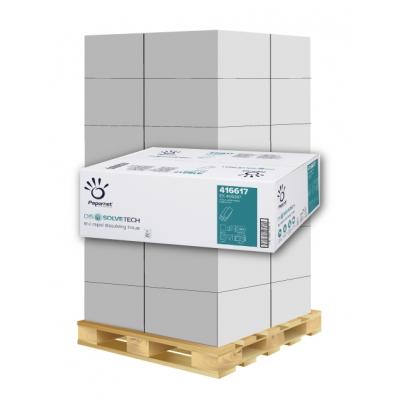 Papierhandtücher Papernet 416617 Z-Falz, 2-lagig, Zellstoff Maß: 20,3 x 24 cm (gef. 8 cm)  1 Palette / 40 Kartons