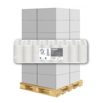 Toilettenpapier 100% Recycling 1-lagig, 400 Blatt, Blauer Engel Papernet 416625 64 Rollen / VE  1 Palette / 33 VE