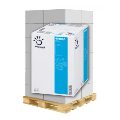 Ärzterollen 55cm x 50 Meter 2-lagig, 143 Blatt, Zellstoff Papernet 401846 9 Rollen / VE  1 Palette / 24 VE