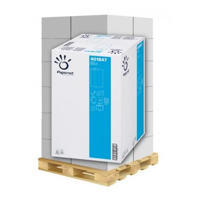 Ärzterollen 60cm x 50 Meter 2-lagig, 143 Blatt, Zellstoff Papernet 401847 9 Rollen / VE  1 Palette / 18 VE