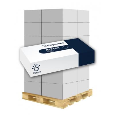 Kosmetiktücherbox 2-lagig, 80 Blatt / Box, Zellstoff Papernet 417191 40 Kosmetikboxen / VE  1 Palette / 36 VE