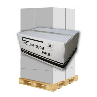 Papierhandtücher Profi 16002 V-Falz, 1-lagig, Recycling Maß: 25 x 23 cm (gefalten 11,5 cm)  1 Palette / 32 Kartons