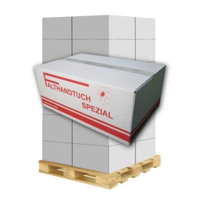 Papierhandtücher Spezial 15420 V-Falz, 2-lagig, Zellstoff Maß: 25 x 23 cm (gefalten 11,5 cm)  1 Palette / 24 Kartons