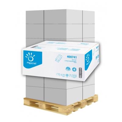 Papierhandtücher Papernet 400741 C-Falz, 2-lagig, Zellstoff Maß: 24 x 32 cm (gef. 9,2 cm)  1 Palette / 36 Kartons