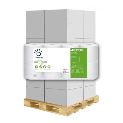 Camping Toilettenpapier BIO TECH 2-lagig, 250 Blatt, weiß Papernet 407576 8 Rollen / VE  1 Palette / 264 VE