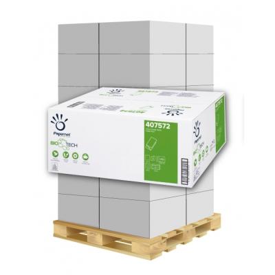 Camping Papierhandtücher BIO TECH 2-lagig, Zellstoff Papernet 407572 3.150 Blatt / Karton  1 Palette / 40 Kartons