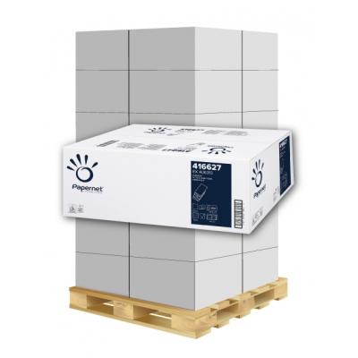 Papierhandtücher Papernet 416627 W-Falz, 2-lagig, Zellstoff Maß: 22 x 32 cm (gef. 8 cm)  1 Palette / 36 Kartons