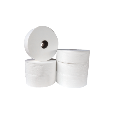 Maxi Jumbo Toilettenpapier Zellstoff 2-lagig, 300m/Rolle 10052  6 Rollen / VE