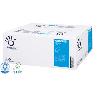 Papierhandtücher SPECIAL V-Falz, 2-lagig, weiß 78 % Maß: 24 x 23 cm (gefalten 11,5 cm)  3.750 Stück / Karton