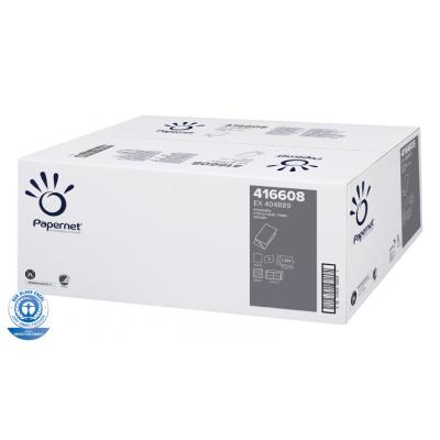 Papierhandtücher Recycling V-Falz, 1-lagig Maß: 24,5 x 23 cm (gefalten 10 cm)  5.000 Stück / Karton