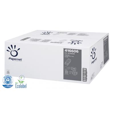Papierhandtücher Recycling C-Falz, 1-lagig  Maß: 24 x 33 cm (gefalten 9,2 cm)  3.640 Stück / Karton
