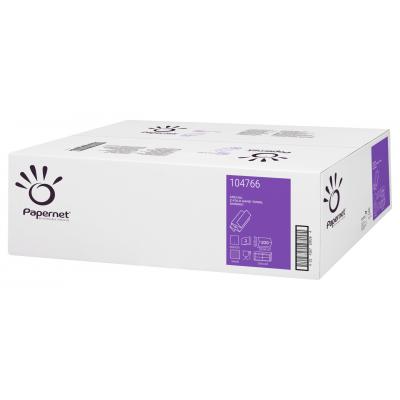 Papierhandtücher Zellstoff Z-Falz (Multifold), 2-lagig Maß: 20,3 x 24 cm (gefalten 8 cm)  4.000 Stück / Karton