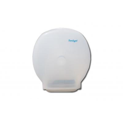 Toilettenpapierspender, abschließbar Spender für Maxi Jumbo-Rollen Kunststoff, weiß  1 Stück