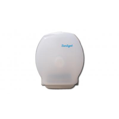 Toilettenpapierspender, abschließbar Spender für Mini Jumbo-Rollen Kunststoff, weiß  1 Stück
