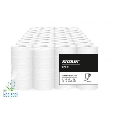 Toilettenpapier SPECIAL 2-lagig / 250 Blatt Katrin / Weiß  64 Rollen / 2 VE