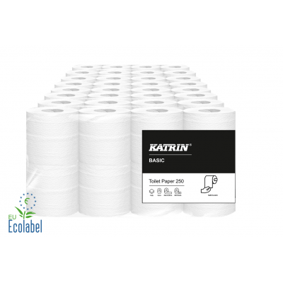 Toilettenpapier SPECIAL 2-lagig / 250 Blatt Katrin / Weiß  64 Rollen / VE