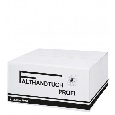 Einmalhandtücher Recyclingpapier V-Falz, 1-lagig, Profi Maß: 25 x 23 cm (gefalten 11,5 cm)  5.000 Stück / Karton
