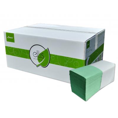 Papierhandtücher LINDGRÜN SPECIAL V-Falz, 2-lagig Maß: 25 x 23 cm (gefalten 11,5 cm)  3.200 Stück / Karton