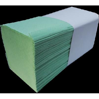 3.750 Stück Papierhandtücher V-Falz SPECIAL grün 2-lagig 25 x 23 cm