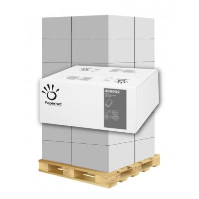 Papierhandtücher Papernet 406992 V-Falz, 2-lagig, Zellstoff Maß: 24 x 21 cm (gef. 10,5 cm)  1 Palette / 36 Kartons