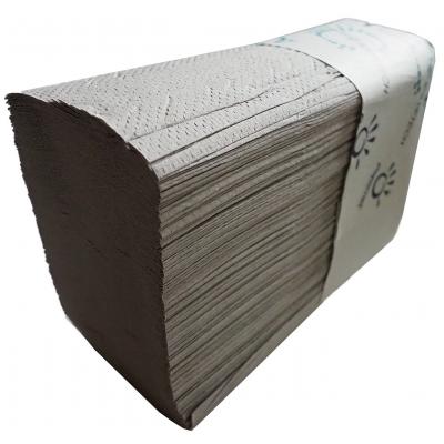 5.000 Stück Papierhandtücher Z-Falz Krepp 1-lagig 20,3 x 8 cm