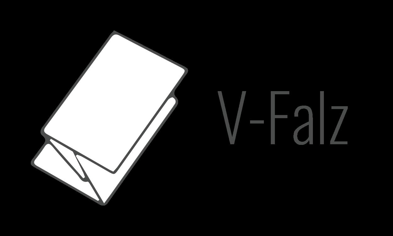 V-Falz oder ZZ-Falz